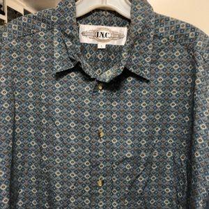Men's INC Cotton Dress Shirt